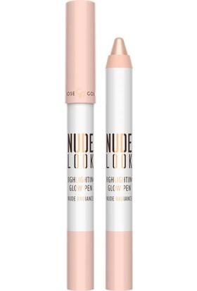 Golden Rose Nude Look Hıghlıghtıng Glow Pen-Nude Radıance - Işıltılı Aydınlatacı Kalem