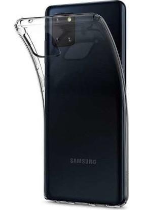 Spigen Samsung Galaxy Note 10 Lite Kılıf Liquid Crystal 4 Tarafı Tam Koruma Crystal Clear - ACS00683