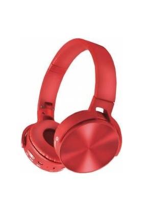 Piranha 2103 Kablolu Mikrofonlu Kulaklık Kırmızı