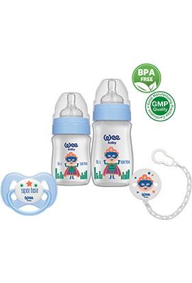Wee Baby Minik Kahramanlar Ürün Seti Mavi