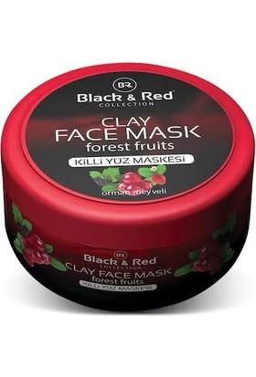 Black Red Orman Meyveleri Özlü Kil Maskesi - 400 ml