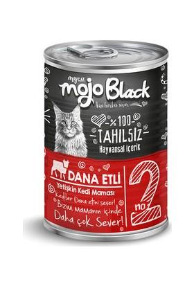 My Cat Mycat Mojo Black Dana Etli Kedi Konservesi 415 gr 6'lı Koli
