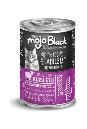 My Cat Mycat Mojo Black Kuzu Etli Sterilised Kedi Konservesi 415 gr 6'lı