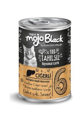 My Cat Mycat Mojo Black Ciğerli Kedi Konservesi 415 gr 6'lı Koli