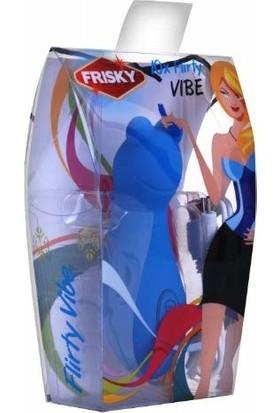 Frisky Flirty Vibe Klitoris Uyarıcı Vibratör Mavi   Frisky