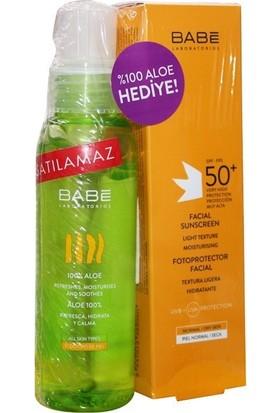 Babe Sunscreen Yüz Için Spf 50+ 50 ml + %100 Aloe