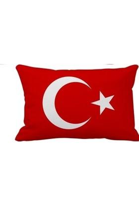 Filoto Türk Bayrağı 2'li Araç Boyun Yastığı
