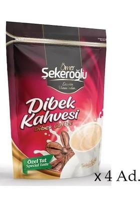 Ömer Şekeroğlu Sütlü Dibek Kahvesi 4 x 200 gr