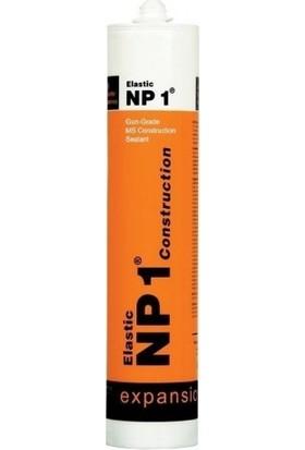 NP1 Ms Polimer Bazlı Izolasyon Mastik ve Yapıştırıcı Kartuş 290 ml Siyah