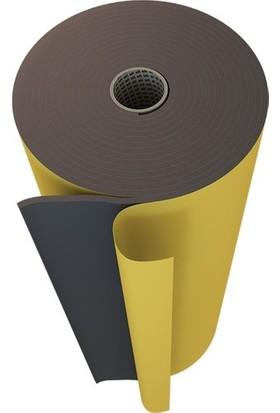 Türkeli Oto Ses Yalıtım Kauçuk Sünger Yapışkanlı 6 mm 100 x 100 cm