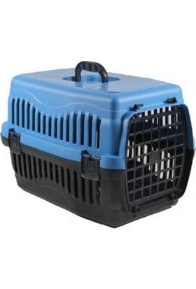 Aslan Kedi Köpek Taşıma Çantası Plastik Mavi