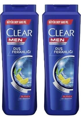 Clear Men Duş Ferahlığı Şampuan 600ML X2 Adet