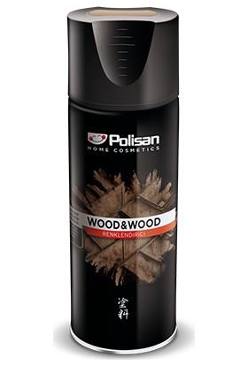 Polisan Wood&wood Sprey Ahşap Renklendirici Koruyucu 400 ml Siyah