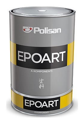 Polisan Epoart Epoksi Reçine 2,4 kg [a+B]