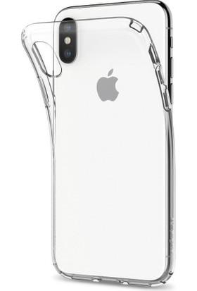 Bass Apple iPhone X Şeffaf Silikon Kılıf