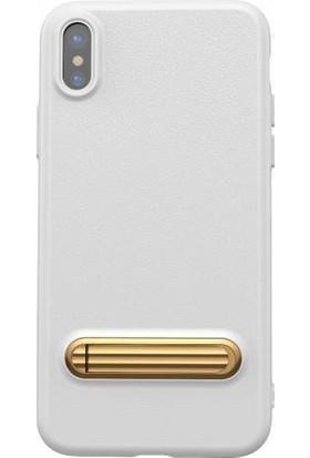 Baseus Happy Watching Supporting Case iPhone x - Xs Stantlı Kılıf