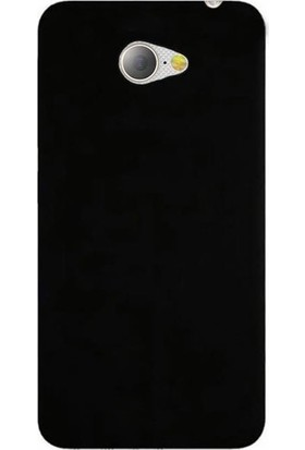 Herdem General Mobile GM 6 Kılıf Ultra Lüx Soft Mat Silikon Siyah