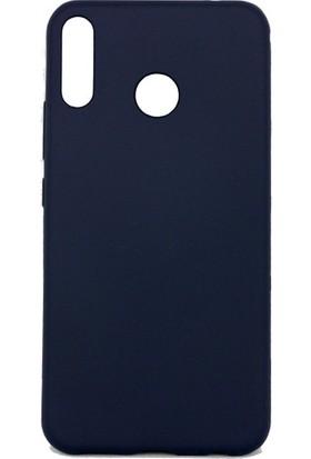Herdem Asus ZenFone 5 (ZE620KL)Kılıf Ultra Lüx Soft Mat Silikon Lacivert