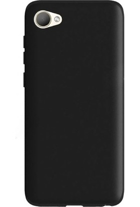 Herdem HTC Desire 12 Kılıf Ultra Lüx Soft Mat Silikon Siyah