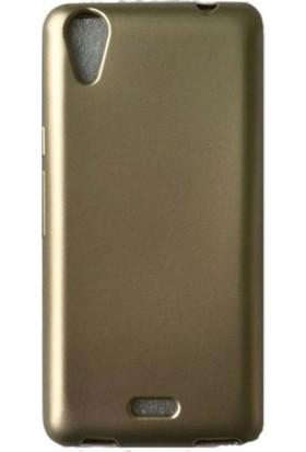 Herdem Casper Via V3 Kılıf Ultra Lüx Soft Mat Silikon Gold