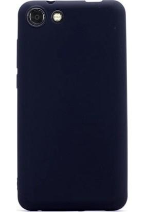 Herdem Vestel Venüs V4 Kılıf Ultra Lüx Soft Mat Silikon Siyah