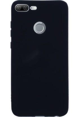 Herdem Huawei Honor 9 Lite Kılıf Ultra Lüx Soft Mat Silikon Siyah