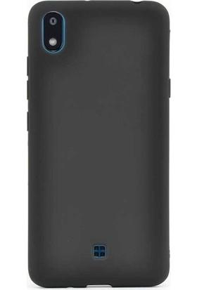 Herdem LG K20 2019 Kılıf Ultra Lüx Soft Mat Silikon Siyah
