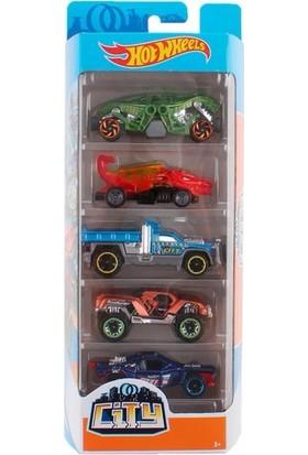 Hot Wheels Beşli Araba Seti 01806 - FYL25