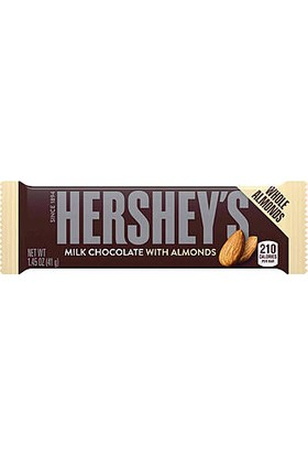 Hershey's Milk Chocolate With Almons 41 gr
