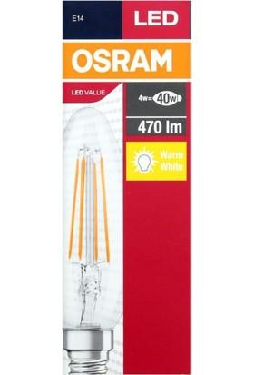 Osram Value 4 W Rustik LED Mum Ampul E14
