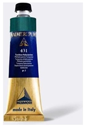 Maimeri Puro Yağlı Boya 40 ml Seri 2 431 Phthalo Turquoise