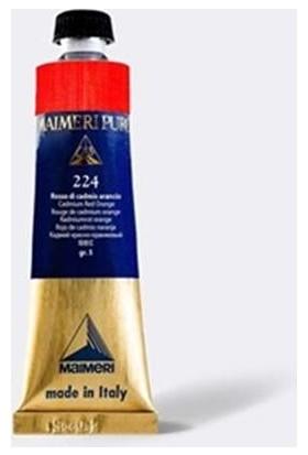 Maimeri Puro Yağlı Boya 40 ml Seri 4 226 Cadmium Red Light