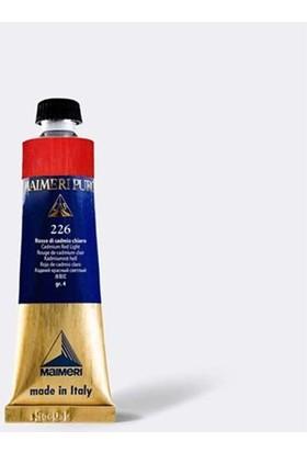 Maimeri Puro Yağlı Boya 40 ml Seri 4 228 Cadmium Red Medium