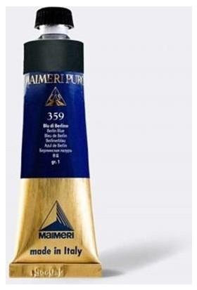 Maimeri Puro Yağlı Boya 40 ml Seri 5 368 Cerulean Blue