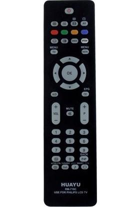 Huayu RM-719C Phılıps 42PFL7662D/12 LCD Tv Uyumlu Kumanda