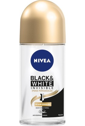 Nivea B&W Invisible İpeksi Pürüzsüzlük Roll On 50 ml