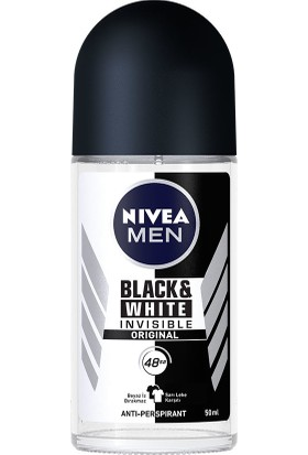 Nivea İnvisible Black&Whıte Power Roll-On Deodorant 50 ml Erkek