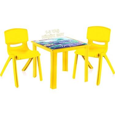Sarı Sandalye Masa