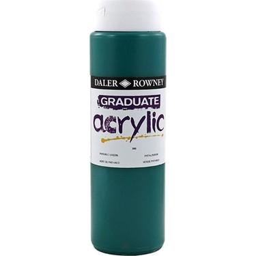 Daler Rowney Graduate Akrilik Boya 500 ml 386 Phthalo Green Fiyatı