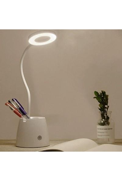 Wonderland Şarjlı Dokunmatik LED Masa Lambası 3 Kademeli Işık 46 cm