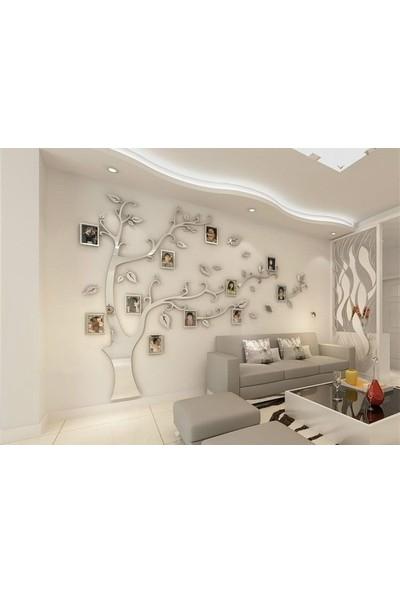 Dez Fotoğraf Çerçeveli 3D Ağaç Duvar Dekoru