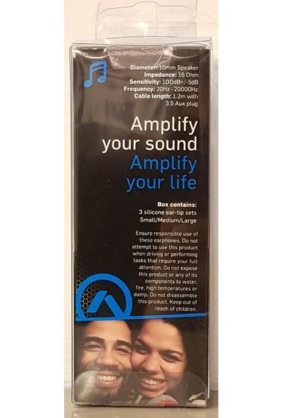 Amplify 1002-BKBL Kulakiçi Kulaklık Mavi