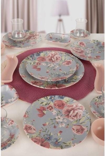 Keramika Rose Kahvaltı Takımı 19 Parça 4 Kişilik 18715