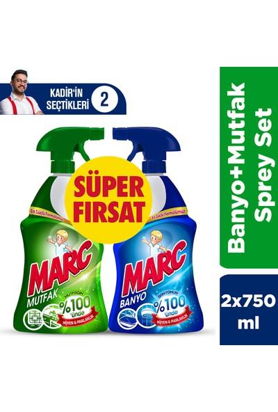 Kadir'in Temizlik Seti (Marc 2'li Sprey Set + Marc Makine Temizleyici + Vanish Gold Leke Çıkarıcı 1lt+1lt)