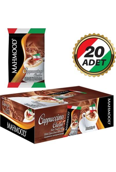 Mahmood Cappucino Klasik Choco Granül 25 gr 20'li