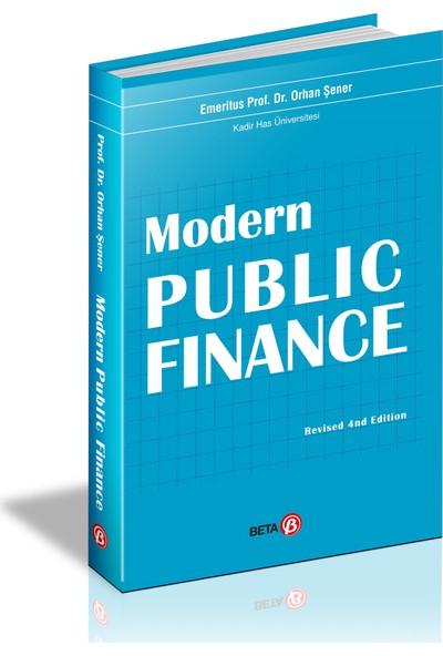 Modern Public Finance