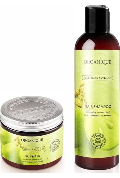 Organique Anti Age Kuru Saçlar İçin Şampuan + Saç Bakım Maskesi
