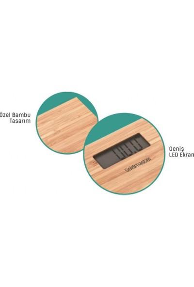 Goldmaster PN-3211 Pronatural Dijital Bambu Banyo Baskülü