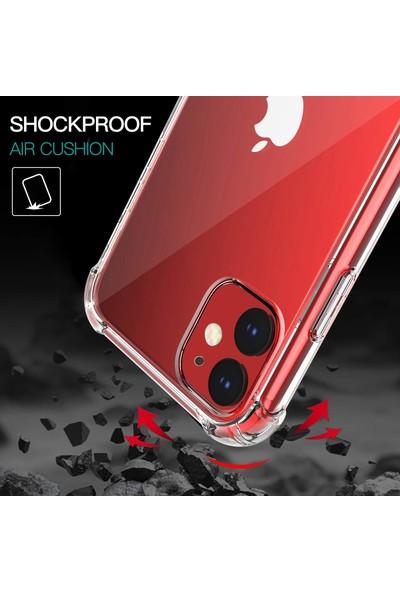Case 4U Apple iPhone 11 Darbe Emici Silikon Kılıf Şeffaf