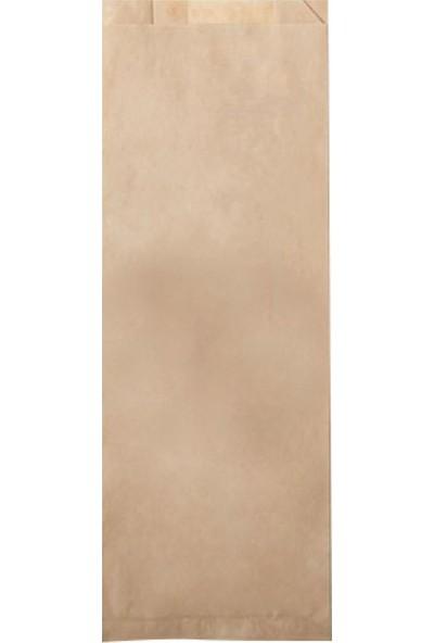 Soft Kağıt Kraft Çatal Kaşık Kılıfı Düz 7 x 27 x 4,5 cm 250'li